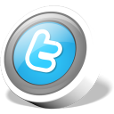 Round Twitter Button
